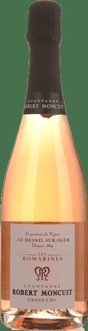 ROBERT MONCUIT Les Romarines Rose Grand Cru, Champagne NV