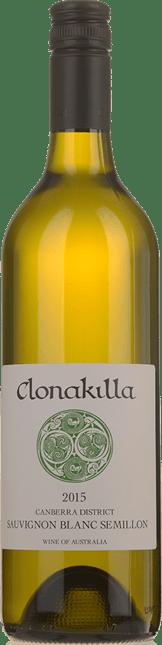 CLONAKILLA Semillon-Sauvignon Blanc, Canberra District 2015