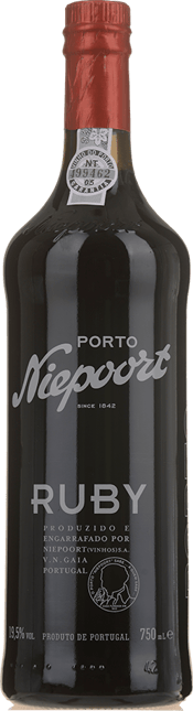 NIEPOORT & CO. Ruby Port, Oporto NV