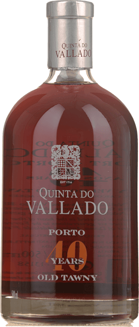 QUINTA DO VALLADO 40 Years Old Tawny, Douro NV