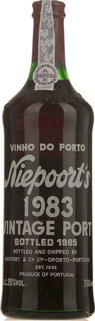 NIEPOORT & CO. Vintage Port, Oporto 1983