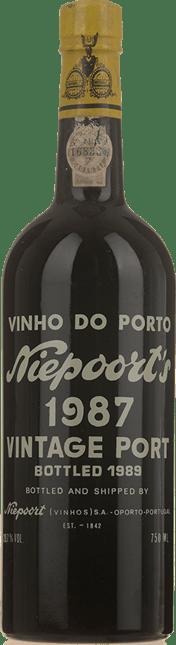 NIEPOORT & CO. Vintage Port, Oporto 1987