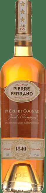 PIERRE FERRAND 1840 3 Star, 1er Cru de Cognac 45% ABV, Grande Champagne NV