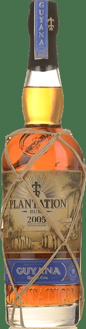 PLANTATION Grand Cru 2005 Rum 45%, Guyana 2005
