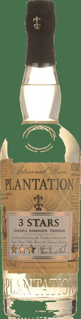 PLANTATION 3 Stars White Rum 41.2%, Jamaica, Barbados NV