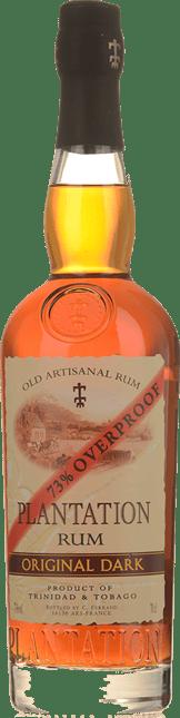 PLANTATION Original Dark Overproof Rum 73%, Trinidad & Tobago, Jamaica NV