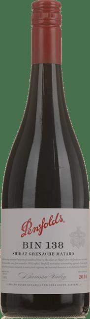 PENFOLDS Bin 138 Old Vine Shiraz Grenache Mourvedre, Barossa Valley 2014