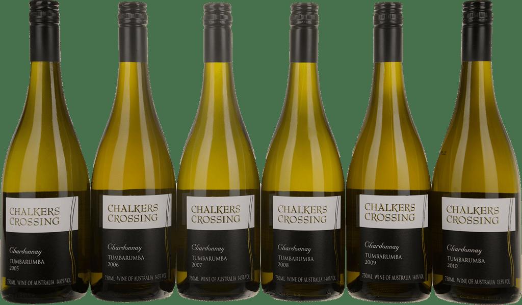 Chardonnay 6 Bottle Vertical Set 2005-2010