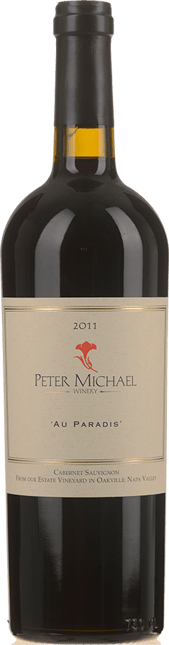 PETER MICHAEL WINERY Au Paradis Cabernet, Napa Valley 2011