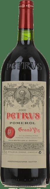 CHATEAU PETRUS Cru exceptionnel, Pomerol 2000