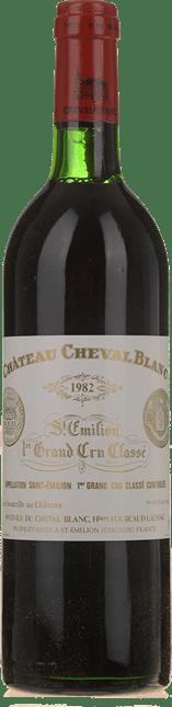 CHATEAU CHEVAL BLANC 1er grand cru classe (A), St-Emilion 1982