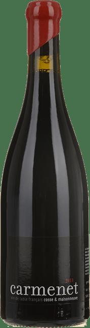 DOMAINE COSSE MAISONNEUVE Carmenet Cabernet Franc, Vin de Table 2011