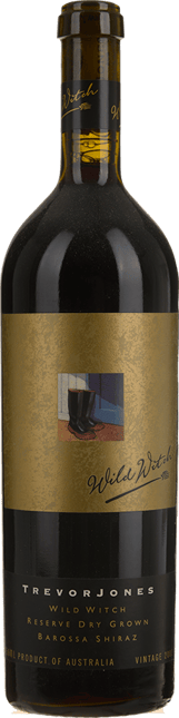 KELLERMEISTER WINES Trevor Jones Wild Witch Dry Grown Reserve Shiraz, Barossa Valley 2001
