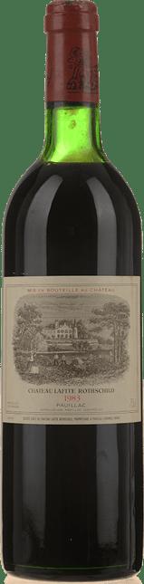 CHATEAU LAFITE-ROTHSCHILD 1er cru classe, Pauillac 1983
