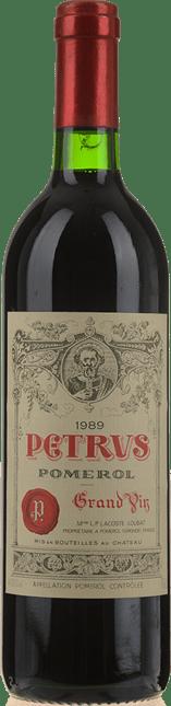 CHATEAU PETRUS Cru exceptionnel, Pomerol 1989
