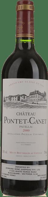 CHATEAU PONTET-CANET, 5me cru classe, Pauillac 2000