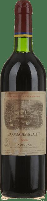 CARRUADES DE LAFITE Second wine of Chateau Lafite, Pauillac 2000