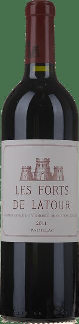 LES FORTS DE LATOUR Second wine of Chateau Latour, Pauillac 2011