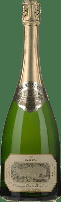 KRUG Clos du Mesnil Blanc de Blancs, Champagne 1983