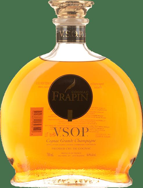 COGNAC FRAPIN VSOP Grande Champagne Cognac 40% ABV, Cognac NV