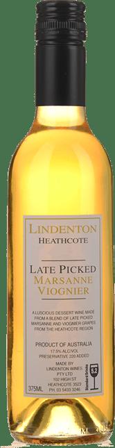 LINDENTON WINES Late Picked Marsanne Viognier, Heathcote NV