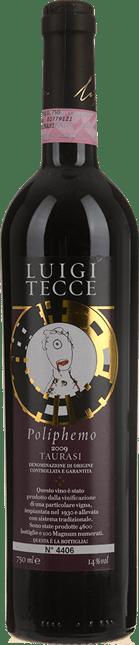 LUIGI TECCE Poliphemo Aglianico, Taurasi DOCG 2009