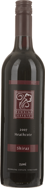 DOWNING ESTATE Shiraz, Heathcote 2007