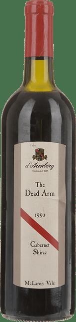 D'ARENBERG WINES The Dead Arm Cabernet Shiraz, McLaren Vale 1993