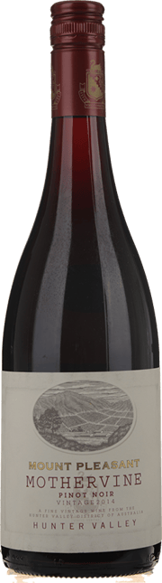 MOUNT PLEASANT Mothervine Pinot Noir, Hunter Valley 2014