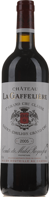 CHATEAU LA GAFFELIERE 1er grand cru classe (B), St-Emilion 2005