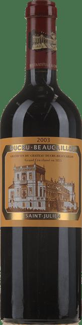 CHATEAU DUCRU-BEAUCAILLOU 2me cru classe, St-Julien 2003