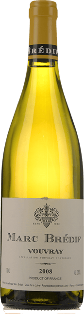MARC BREDIF, Vouvray 2008