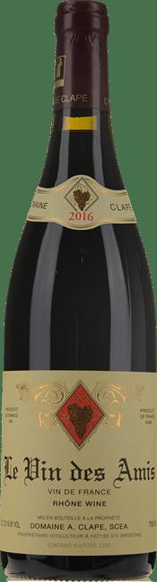 DOMAINE CLAPE Le vin de Amis, Cornas 2016
