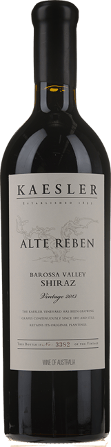 KAESLER WINES Alte Reben Shiraz 3-pack Vertical 2012, 2013, 2014  MV