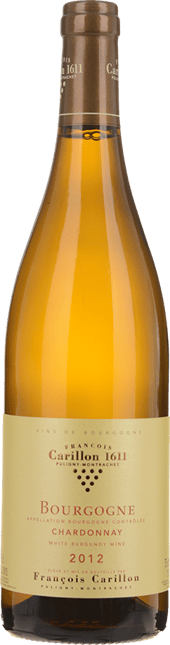DOMAINE FRANCOIS CARILLON, Bourgogne Blanc 2012