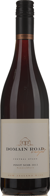 DOMAIN ROAD VINEYARD Bannockburn Pinot Noir, Central Otago 2012