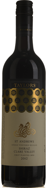 TAYLORS WINES St. Andrews Shiraz, Clare Valley 2012