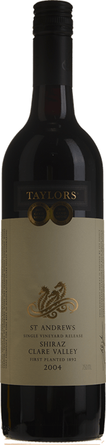 TAYLORS WINES St. Andrews Shiraz, Clare Valley 2004