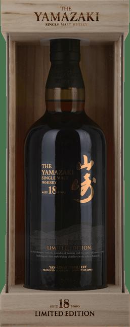 SUNTORY Yamazaki Limited Edition 18 Year Old 43% ABV Whisky, Shimamoto NV
