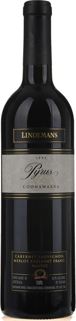 LINDEMANS Pyrus Cabernets, Coonawarra 1993