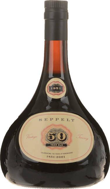 SEPPELT 50 Year Old Para Tawny Port, 150th Anniversary Commemoration 1851-2001 Barossa Valley 1951