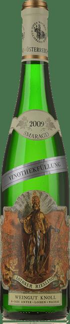WEINGUT KNOLL Vinothekfullung Loibner Smaragd Riesling, Osterreich 2009