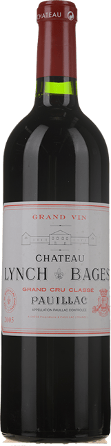 CHATEAU LYNCH-BAGES 5me cru classe, Pauillac 2005