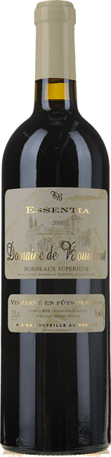 DOMAINE DE BOUILLEROT Essentia, Bordeaux Superieur 2000