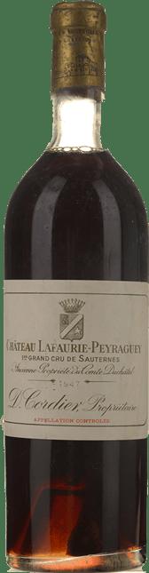 CHATEAU LAFAURIE-PEYRAGUEY 1er cru classe, Sauternes 1947