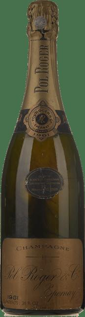 POL ROGER Cuvee de Reserve Blancs de Chardonnay, Champagne 1961