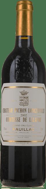 CHATEAU PICHON-LONGUEVILLE LALANDE 2me cru classe, Pauillac 2002