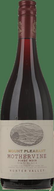 MOUNT PLEASANT Mothervine Pinot Noir, Hunter Valley 2014