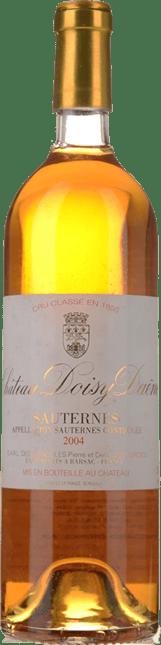 CHATEAU DOISY-DAENE 2me cru classe, Sauternes-Barsac 2004