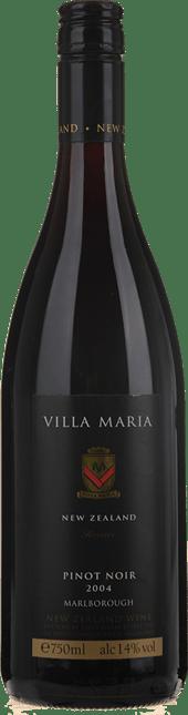 VILLA MARIA Reserve Pinot Noir, Marlborough 2004